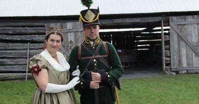 1812 Living History weekend returns to Glengarry Pioneer Museum September 26-27