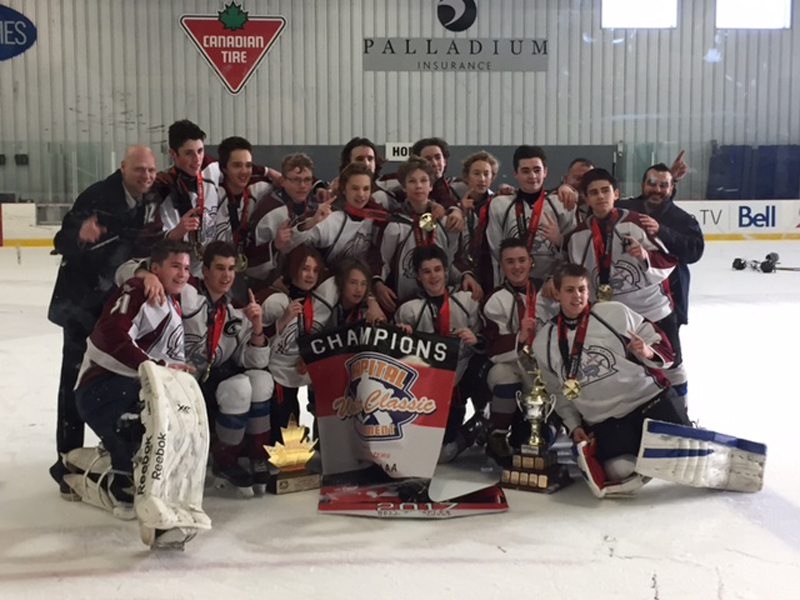 Submitted 18jan2017 Eastern Ontario Hockey Tournament Win
