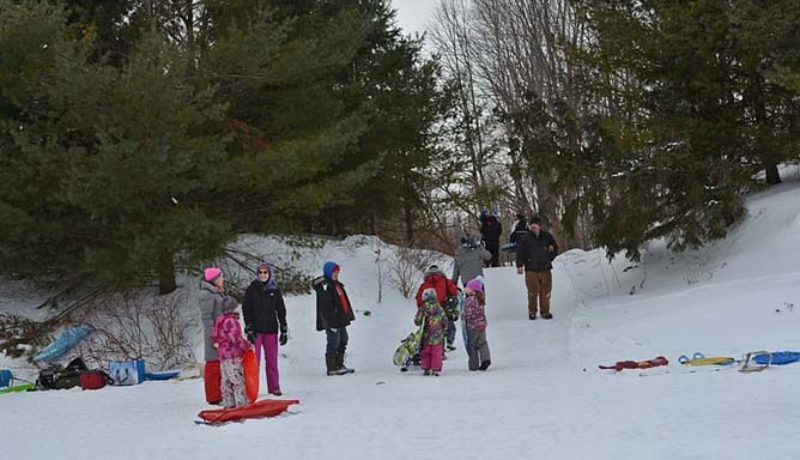 There was winter fun for all at the carnival. (Janice Winsor)