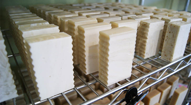The soap soldiers. (Photo: Francis Tessier-Burns).