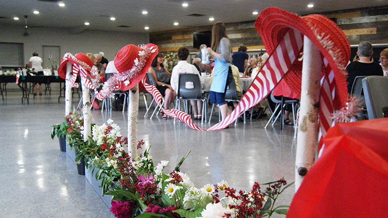 The horticultural society counts 76 members and celebrated its 110th anniversary this year.