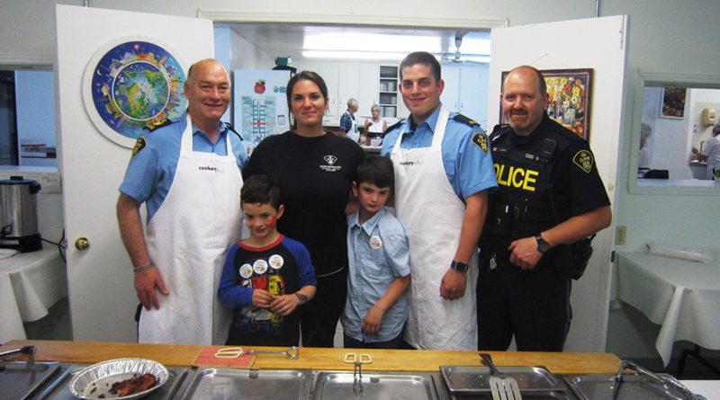 OPP Officers serve Breakfast
