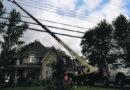 Storm damage in Wendover