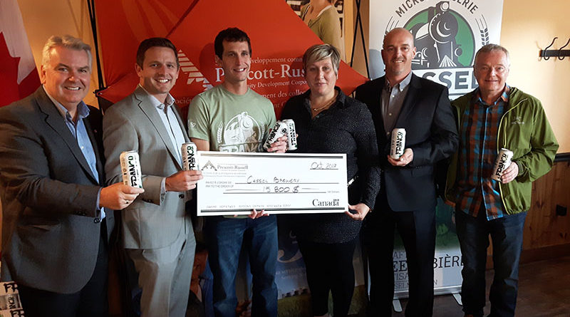 Cassel Brewery Cheque Photo