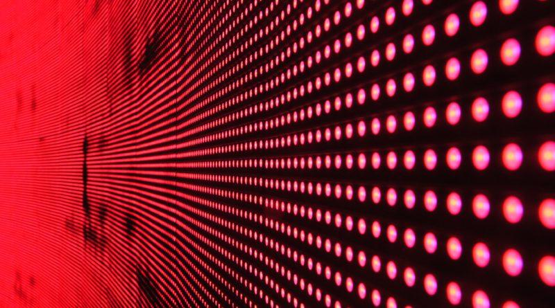 Led Lights Stock Image