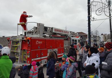 Parade, guignolée December 9 in Brownsburg-Chatham