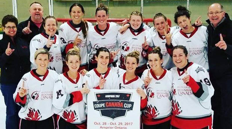Local broomballers part of Canada Cup Champs