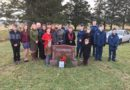 Air cadets placed wreaths at headstones