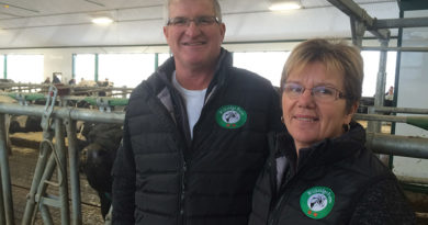 Dairy farmers pay it forward with GEA robots