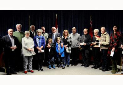 Outgoing Warden Gary J. Barton raised $20,100 for 14 Champlain organizations