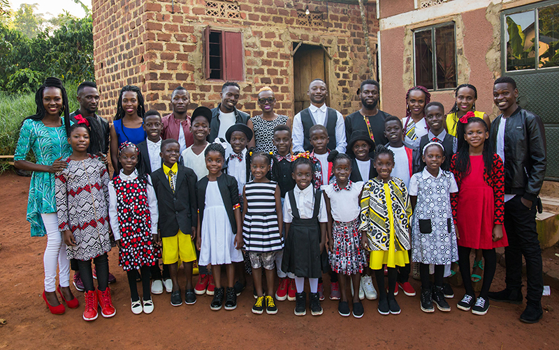 Watoto Choir at St Jude Church on February 27