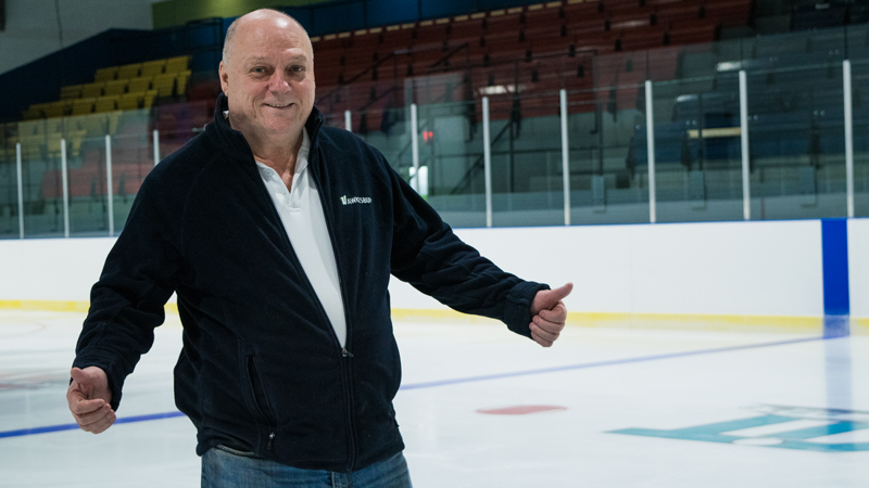 The Robert Hartley Sports Complex ice rink gets a serious makeover