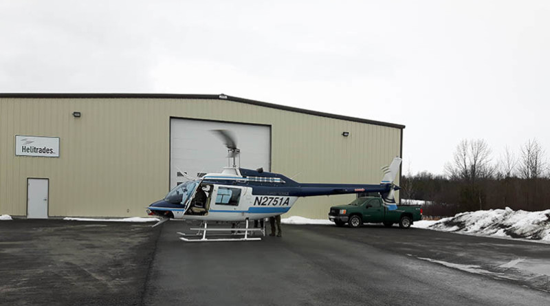 Vankleek Hill's Helitrades hoping new, expanded service takes flight