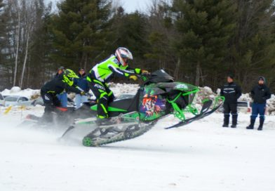 Snowmobile drags: the 2018 edition in St-Eugene