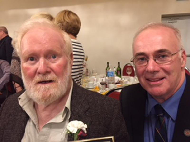 Gerry O'Neill (left) and Ian McCleod