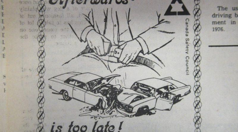 Mandatory Seatbelts In 1976, When Were Seat Belts Mandatory In Canada