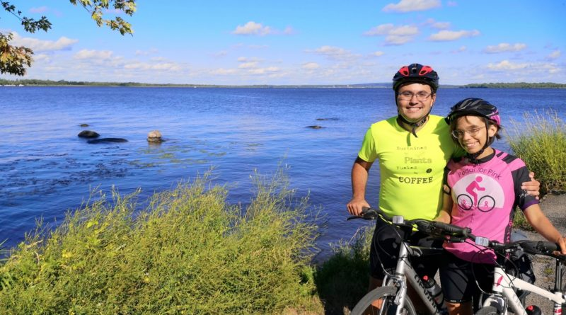 Chute-a-Blondeau couple cycling in memory of grandmother to raise awareness of women's issues