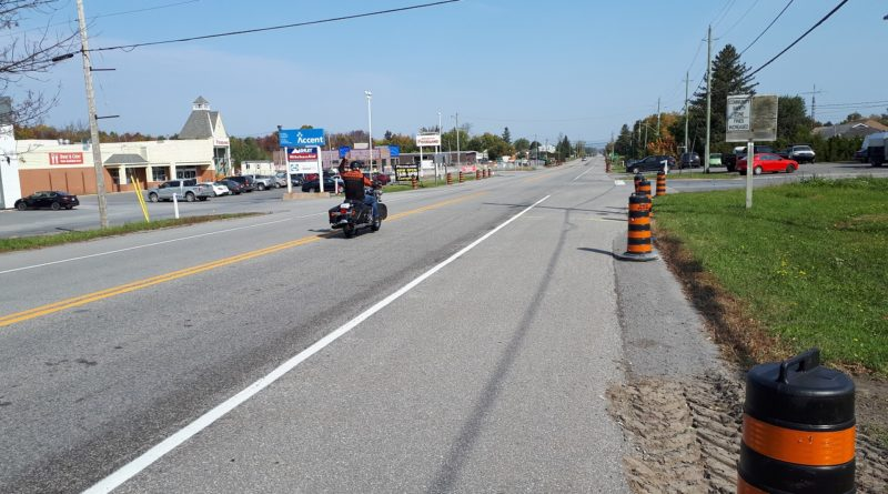 Left turn lanes being added to Highway 34 at north end of Vankleek Hill
