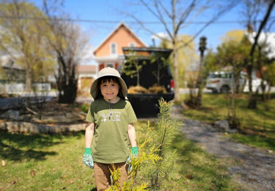 Ideas, drawing and a pledge to plant trees are the winners of The Review's Earth Day Contest