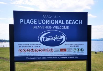 L'Orignal Beach open to Champlain residents, township working with EOHU on easing restrictions for visitors