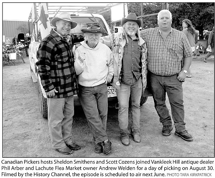 This Week in Native Historical past – September 15, 2021 – The Evaluation Archives – 'Canadian Pickers' TV present visits Lachute, Vankleek Hill – The Evaluation Newspaper