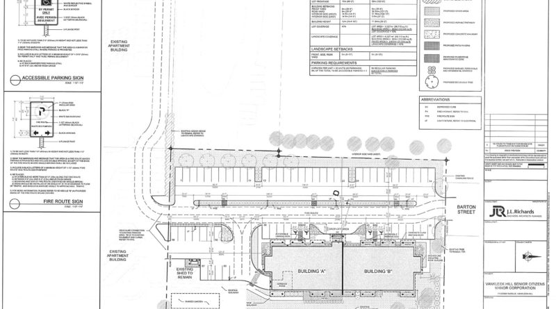 Site plan in place for Vankleek Hill Senior Citizens Manor; organization waiting for news on funding application