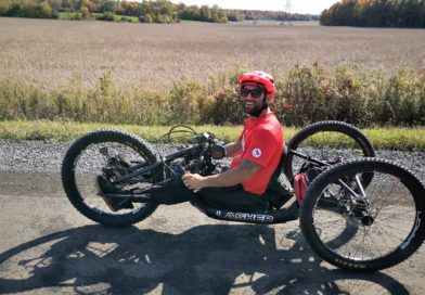 Taking a spin with Paralympian cyclist Joey Desjardins